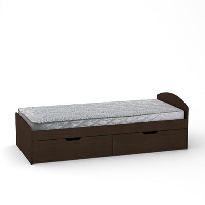 Кровать - 90+2 с двумя ящиками ( без матраса)