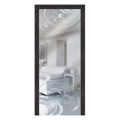 Зеркальная дверь Alba