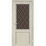 Межкомнатная дверь Classico CL-02  бронзовое стекло с штапиком