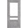 Межкомнатная дверь Classico CL-04 с белым стеклом без штапика