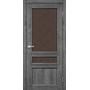 Межкомнатная дверь Classico CL-05  бронзовое стекло с штапиком