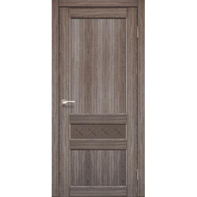 Міжкімнатні двері Classico CL-06 з бронзовим склом без штапика