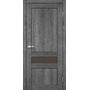 Межкомнатная дверь Classico CL-06 с бронзовым стеклом без штапика