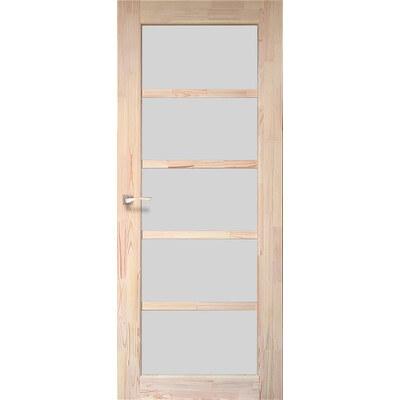 Деревянная дверь SD-01 Натуральная сосна