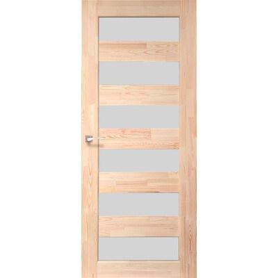 Деревянная дверь SD-02 Натуральная сосна