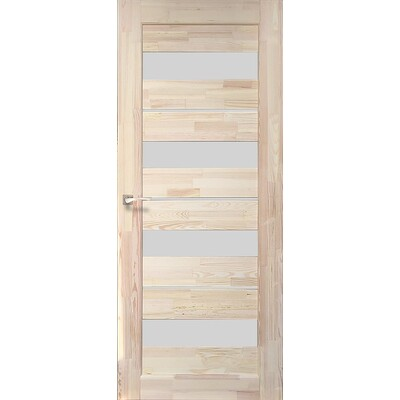 Деревянная дверь SD-03 Натуральная сосна