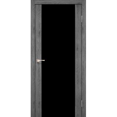 Межкомнатная дверь Sanremo SR-01 триплекс черный