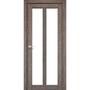 Межкомнатная дверь Torino TR-02 с белым стеклом