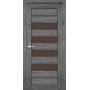 Межкомнатная дверь Piano Deluxe PND-03 с бронзовым стеклом