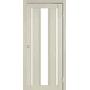 Межкомнатная дверь Venecia Deluxe VND-04 с белым стеклом