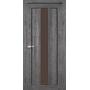 Межкомнатная дверь Venecia Deluxe VND-04 с бронзовым стеклом