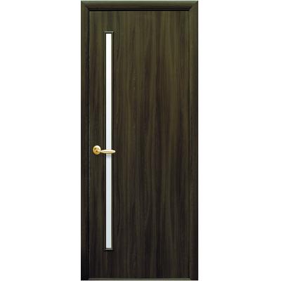 Межкомнатная дверь Глория со стеклом сатин