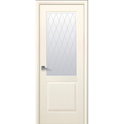 Межкомнатная дверь Эпика со стеклом ПВХ Deluxe