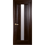 Межкомнатная дверь Премьера со стеклом сатин ПВХ Deluxe