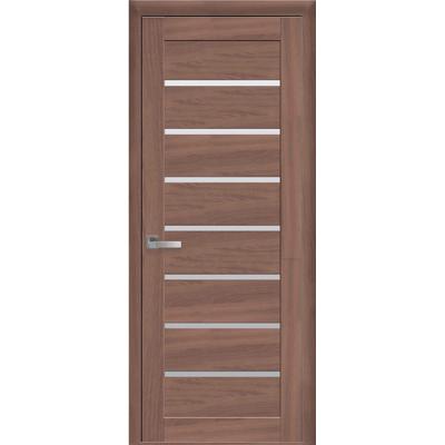 Межкомнатная дверь LEONA со стеклом сатин