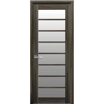 Межкомнатная дверь VIOLA со стеклом сатин