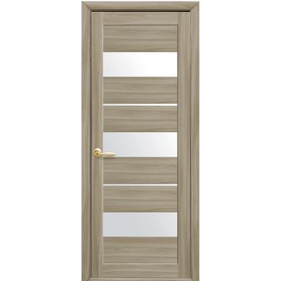 Межкомнатная дверь Лилу со стеклом сатин