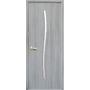 Межкомнатная дверь Гармония со стеклом сатин