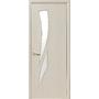 Межкомнатная дверь Камея со стеклом сатин без рисунка