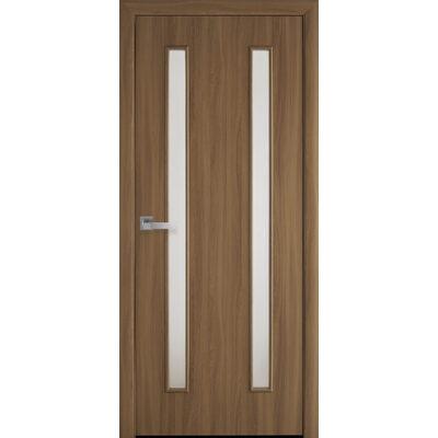 Межкомнатная дверь Вера со стеклом сатин