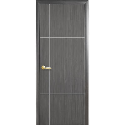 Межкомнатная дверь Ника Silver с гравировкой