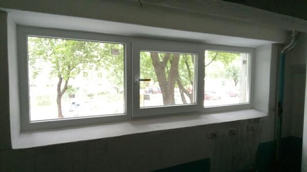 Заменить окна в подъезде для ОСББ